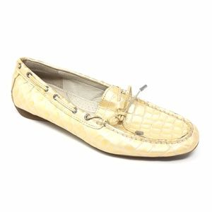 Women's Sperry Top-Sider Champagne Loafers Size 8M